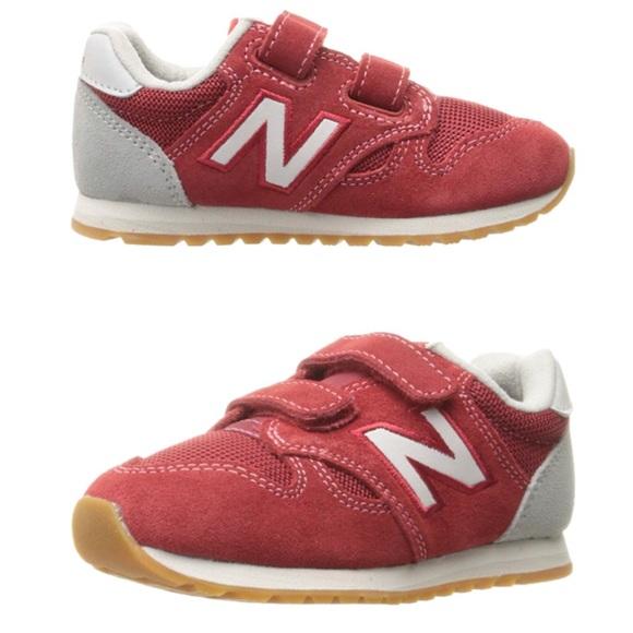 quality design d1db9 f2793 New Balance 520 Sneaker red suede adjustable strap.  M 5bdc40a86197451c966b801f